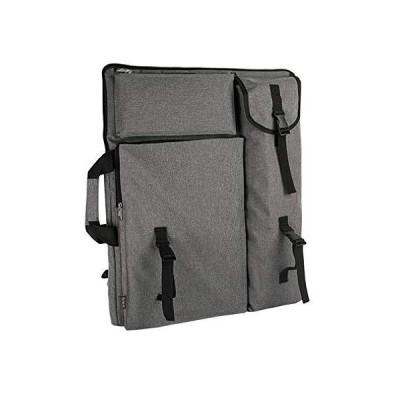 アートポートフォリオ キャリーバッグ 4K キャンバス アーティストバックパック 調節可能なショルダーバッグ トート アーティストポートフォリオケース