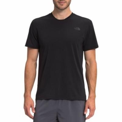 ザ ノースフェイス The North Face メンズ ランニング・ウォーキング Tシャツ トップス Wander T-Shirt TNF Black