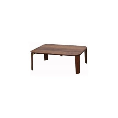 ds-2330456 テーブル 90 ブラウン 〔幅90×奥行60cm〕 【完成品】【代引不可】 (ds2330456)
