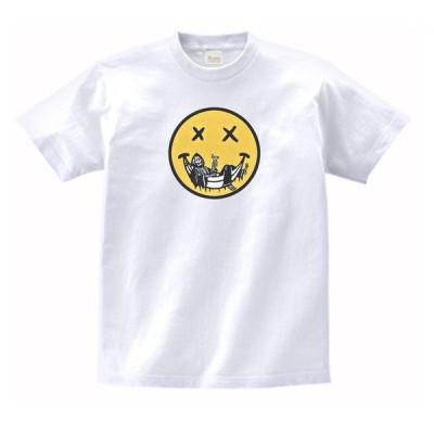 悪魔のスマイル おもしろ・バカ Tシャツ