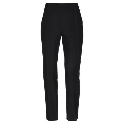 BOUTIQUE MOSCHINO パンツ ブラック 46 ポリエステル 53% / バージンウール 43% / 指定外繊維 4% パンツ