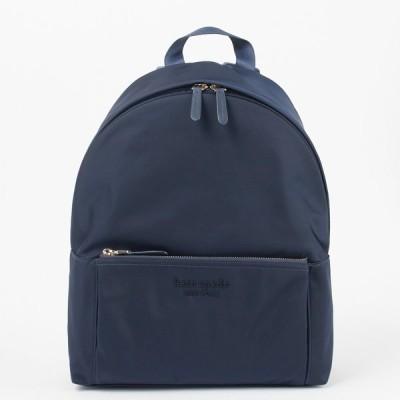 ケイトスペード リュックサック バックパック 【THE NYLON CITY PACK:ザ ナイロン シティ パック】large backpack PXRUB189 ネイビー系(937/RICH NAVY) KATE SP