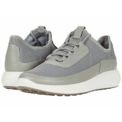 エコー スニーカー シューズ レディース Soft 7 Runner Summer Sneaker Wild Dove/Wild Dove/Concrete Cow Leather/Textile