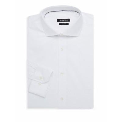 ブガッチ Men Clothing Checkered Cotton Dress Shirt