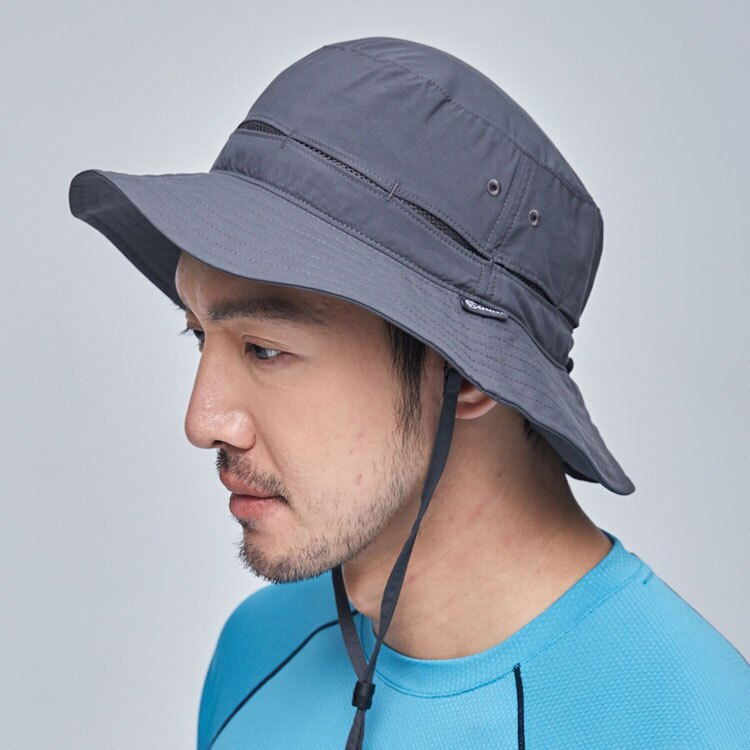 ADISI 抗UV透氣快乾撥水收納護頸兩用盤帽 AH21005 / 城市綠洲專賣 (UPF50+ 防紫外線 防曬帽 遮陽帽)