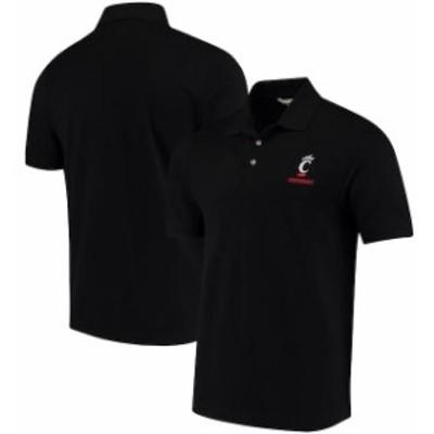 Cutter & Buck カッター アンド バック スポーツ用品  Cutter & Buck Cincinnati Bearcats Black Collegiate Advantage DryTec Polo