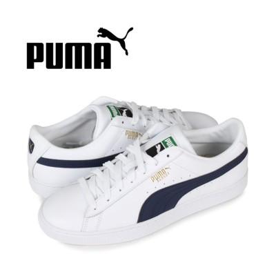 【スニークオンラインショップ】 プーマ PUMA バスケット クラシック スニーカー メンズ BASKET CLASSIC 21 ホワイト 白 374923-05 メンズ その他 27.0cm SNEAK ONLINE SHOP