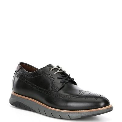 ジョンストンアンドマーフィー メンズ ドレスシューズ シューズ Collection Men's Vaughn Long Wingtip Shoes