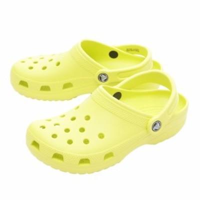 クロックス(crocs)サンダル サンダル クラシック クロッグ Citrus 10001-738 オンライン価格(Lady'…