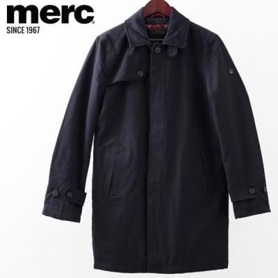 メルクロンドン Merc London マックコート W1 プレミアム ネイビー キルティング メンズ