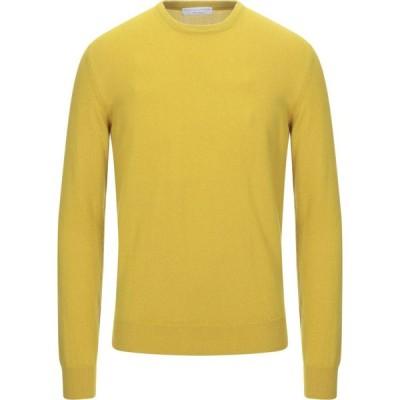 フィリッポ デ ローレンティス FILIPPO DE LAURENTIIS メンズ ニット・セーター トップス cashmere blend Yellow