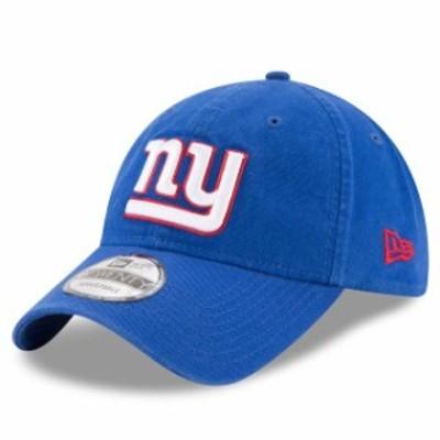 New Era ニュー エラ スポーツ用品  New Era New York Giants Royal Core Classic 9TWENTY Adjustable Hat