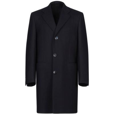 KITON コート ダークブルー 48 ウール 90% / カシミヤ 10% コート