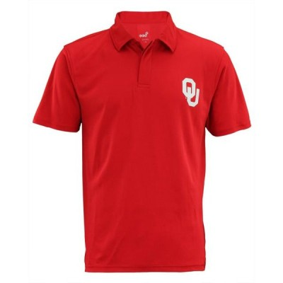 メンズ スポーツリーグ アメリカ大学スポーツ NCAA Men's Oklahoma Sooners Short Sleeve Performance Polo Shirt ポロス