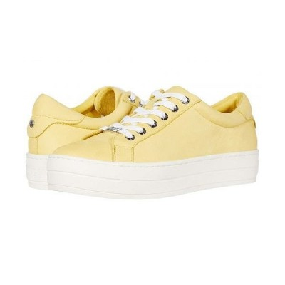 J/Slides レディース 女性用 シューズ 靴 スニーカー 運動靴 Hippie - Yellow Waxy Nubuck
