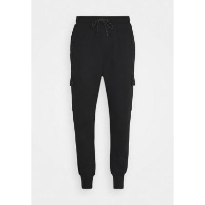 ジャック アンド ジョーンズ カジュアルパンツ メンズ ボトムス JJIGORDON JJAIR PANTS - Cargo trousers - black
