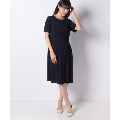 【ラピーヌ ブランシュ】【洗える/接触冷感】ジョイクールスムース ドレス