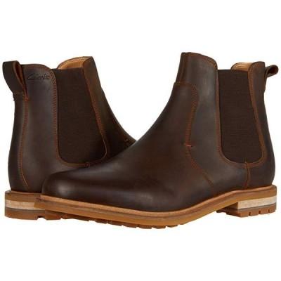 クラークス Foxwell Top メンズ ブーツ Beeswax Leather