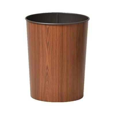 日本製ゴミ箱 ぶんぶくテーパーバケット ゴミ箱 ダストボックス ごみ箱 くず入れ (ミディアムオーク)
