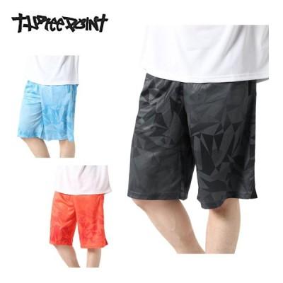バスケットボール ハーフパンツ メンズ バスケプリントパンツ TP570406J01 スリーポイント ThreePoint