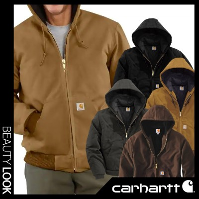 【Carhartt】J140 Duck Active Jacket 4色☆100%正品/ダック アクティブ ジャケット