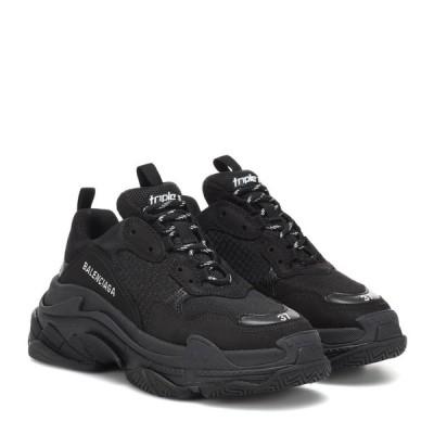 バレンシアガ Balenciaga レディース スニーカー シューズ・靴 triple s sneakers Black