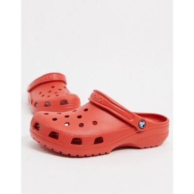 クロックス Crocs メンズ クロッグ シューズ・靴 originals clogs in terracotta red レッド