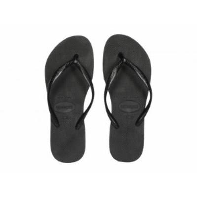 Havaianas ハワイアナス レディース 女性用 シューズ 靴 サンダル Slim Flatform Sandal Black【送料無料】