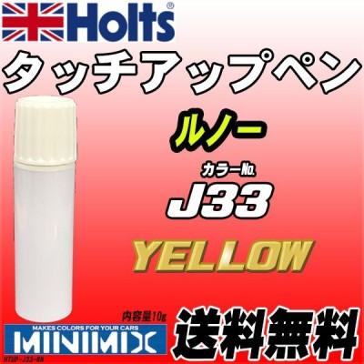 タッチアップペン ルノー J33 YELLOW Holts MINIMIX