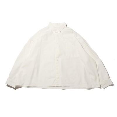 アトモスピンク atmos pink シャツ ビビットカラーシャツ (WHITE) 20SP-I