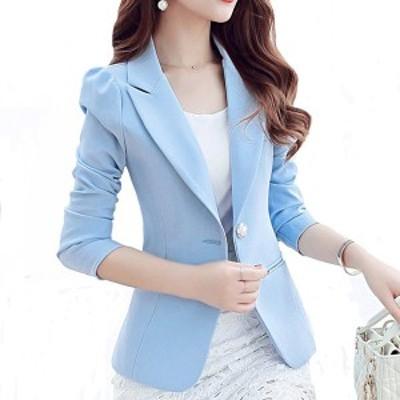 春秋の女性のコート新しいファッションオフィスレディスリムコート上着衣類短い段落小さなエレガントなスーツレディージャック