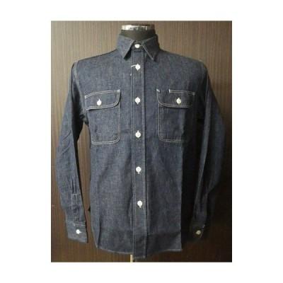 SUGAR CANE 9ozデニムワークシャツ /シュガーケーン メンズ 長袖シャツ ワークシャツ