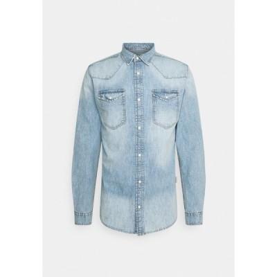 リディファイン レベル シャツ メンズ トップス JEREMY - Shirt - light blue