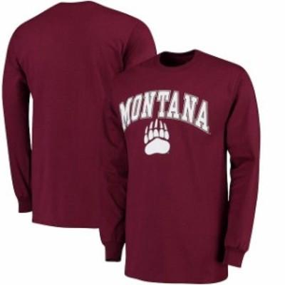 Fanatics Branded ファナティクス ブランド スポーツ用品  Fanatics Branded Montana Grizzlies Maroon Campus Long Sl