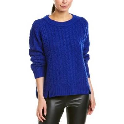 ザックポーゼン レディース ニット&セーター アウター ZAC Zac Posen Wool Sweater bluebell