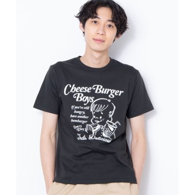 WEGO / WEGO/レトロヒューマンモチーフTシャツ MEN トップス > Tシャツ/カットソー