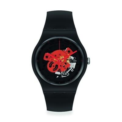 腕時計 TIME TO RED BIG