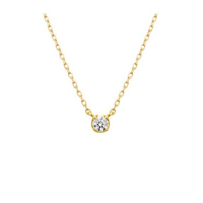 4℃ ネックレス K10イエローゴールド ダイヤモンドネックレス ヨンドシー 正規ラッピング ギフト包装無料 111736123011