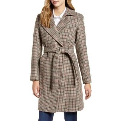 コールハーン レディース ジャケット&ブルゾン アウター Wool Blend Coat MLTI HOUND