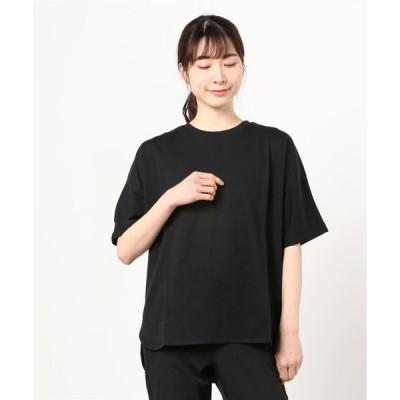 tシャツ Tシャツ ティゴラ TIGORA SMART クールコットンクルーネックTシャツ