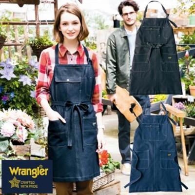 ラングラー Wrangler 前掛け エプロン 胸当てエプロン AZ-64380  2018年 新作 新商品