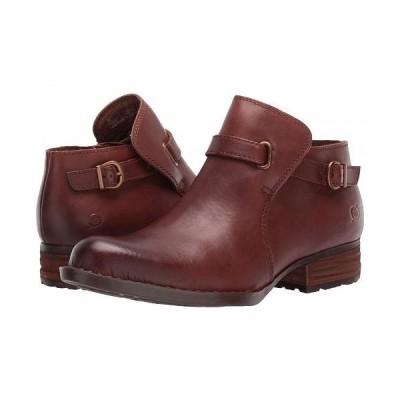 Born ボーン レディース 女性用 シューズ 靴 ブーツ アンクル ショートブーツ Kristina - Brown Full Grain Leather