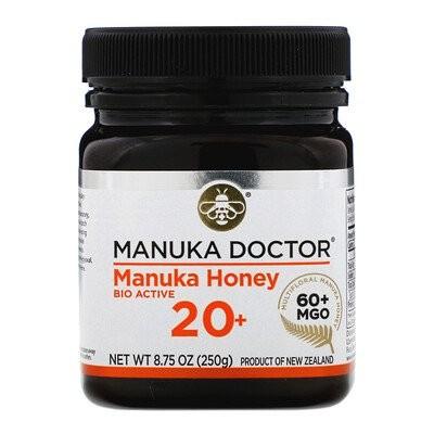 Manuka Honey Multifloral, MGO 60+, 8.75 oz (250 g)