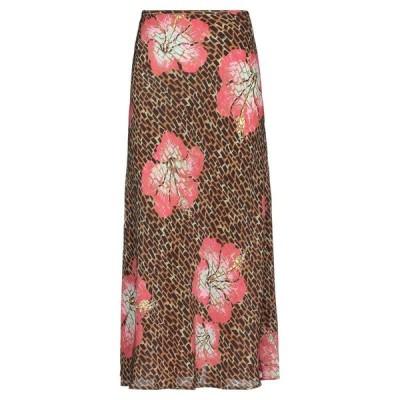 RIXO ロングスカート ファッション  レディースファッション  ボトムス  スカート  ロング、マキシ丈スカート キャメル