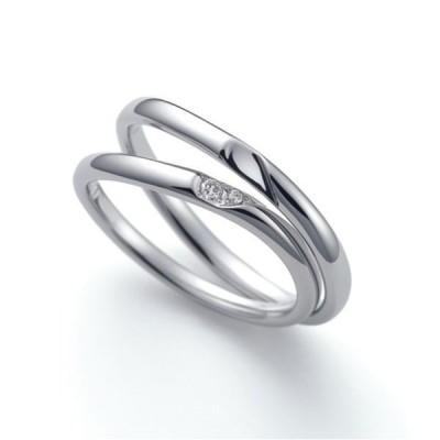 CN-059 結婚指輪 マリッジリング nocur ノクル Pt900 プラチナ ダイヤモンド