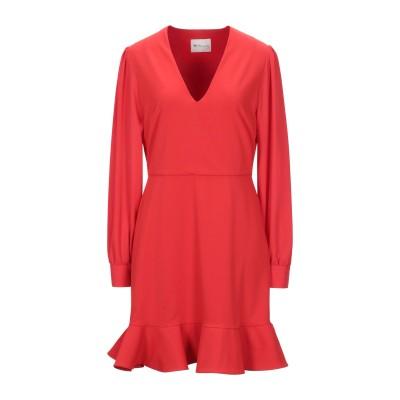 BE BLUMARINE ミニワンピース&ドレス レッド 42 ポリエステル 100% ミニワンピース&ドレス