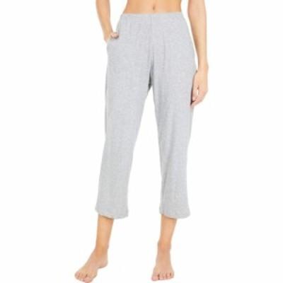 スキン Skin レディース クロップド ボトムス・パンツ Organic Cotton Carlyn Crop Pants Heather Grey