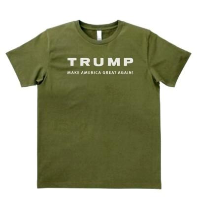 人物・有名人 Tシャツ トランプ カーキー MLサイズ