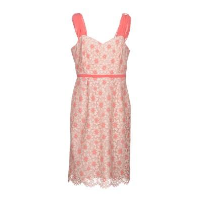 ディアナ ガッレージ DIANA GALLESI ミニワンピース&ドレス ピンク 50 コットン 38% / ナイロン 36% / ポリエステル 2