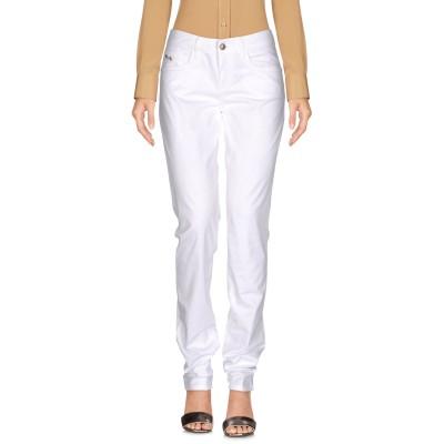 HARMONT&BLAINE パンツ ホワイト 46 コットン 96% / ポリウレタン® 4% パンツ